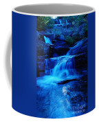 Small Waterfall Going Into Spirit Lake  Coffee Mug
