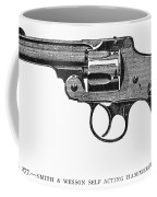 Smith & Wesson Revolver Coffee Mug