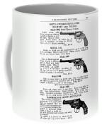 Smith & Wesson Revolvers Coffee Mug