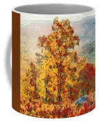 Smoke Tree In The Karst Coffee Mug