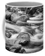 Smokey Mountain Stream Of Flowing Water Over Rocks Coffee Mug