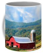 Smokie Mountain Barn Coffee Mug by Betty LaRue
