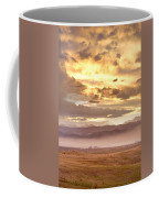 Smoky Sunset Over Boulder Colorado  Coffee Mug