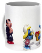 Smurf Figurines Coffee Mug by Amir Paz