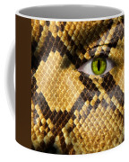Snake Eye Coffee Mug by Semmick Photo