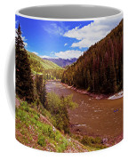 Snake River And Rafters Coffee Mug