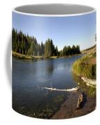 Snake River At Schwabacher Landing  Coffee Mug