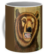Snarling Grizzly Coffee Mug