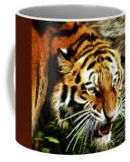 Snarling Tiger Coffee Mug