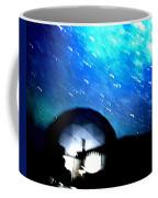 Snow Arrives  Coffee Mug