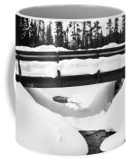 Snow Bridge In Canadian Rockies Coffee Mug