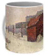 Snow Butte Montmartre Coffee Mug by Paul Signac