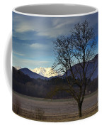 Snow-capped Monte Rosa Coffee Mug