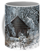 Snow Covered Barn Coffee Mug
