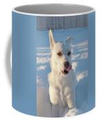 Snow Dog 0249 Coffee Mug