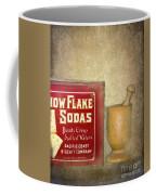 Snow Flake Soda Crackers Coffee Mug