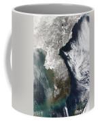 Snow In Korea Coffee Mug by Stocktrek Images