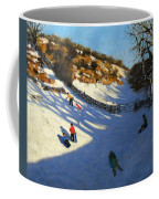 Snow In The Valley Coffee Mug