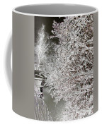 Snow Laden Branches II Coffee Mug