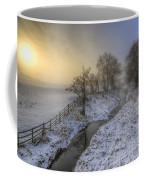 Snow Landscape Sunrise 2.0 Coffee Mug
