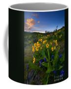Snow Mountain Sunset Coffee Mug