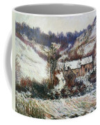 Snow Near Falaise Coffee Mug