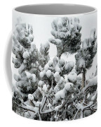 Snow On The Pines Coffee Mug
