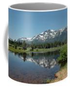 Snow Reflections Mt Tallac Coffee Mug