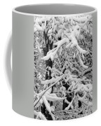 Snow Trees Coffee Mug