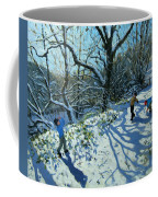Snowball Fight Coffee Mug