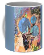 Snowball Plant Abstract 3 Coffee Mug