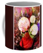 Snowball Plant Abstract 4 Coffee Mug