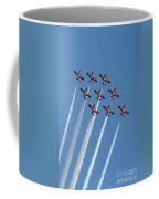 Snowbirds In The Big Diamond Formation Coffee Mug