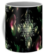 Snowflake Bubble Glass Coffee Mug