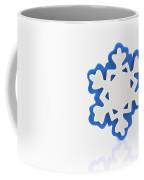 Snowflake With Reflection Coffee Mug