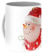 Snowman Figure Coffee Mug
