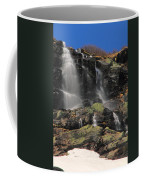 Snowmelt Waterfalls In Tuckermans Ravine Coffee Mug