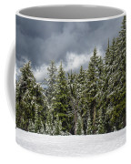 Snowstorm In The Cascades Coffee Mug