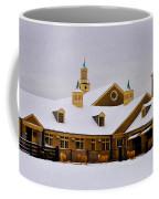 Snowy Day At Erdenheim Farm Coffee Mug