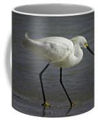 Snowy Egret By The Lagoon Coffee Mug