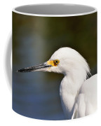 Snowy Egret Close Up Coffee Mug