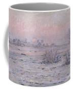Snowy Landscape At Twilight Coffee Mug