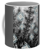 Snowy Night II Fractal Coffee Mug