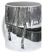 Snowy Park Coffee Mug