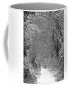 Snowy Path Coffee Mug
