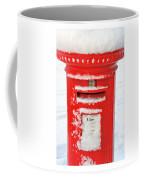 Snowy Pillar Box Coffee Mug