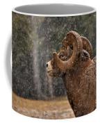 Snowy Ram Coffee Mug
