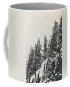 Snowy Ridge Near Snoqualmie Pass Coffee Mug