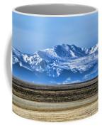 Snowy Rockies Coffee Mug