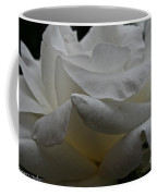 Snowy Rose Coffee Mug